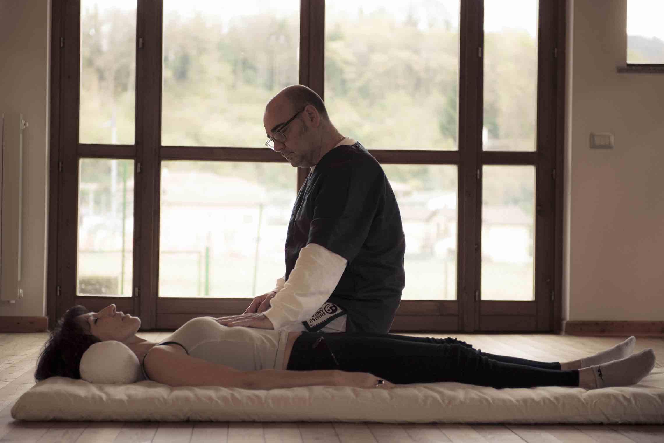 Lo Shiatsu si pratica su un Futon
