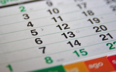 Calendario corsi Shiatsu Amico Loft 2018/2019